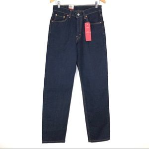 Levi's 550 Relaxed Fit Dark Blue Wash Size 30x32